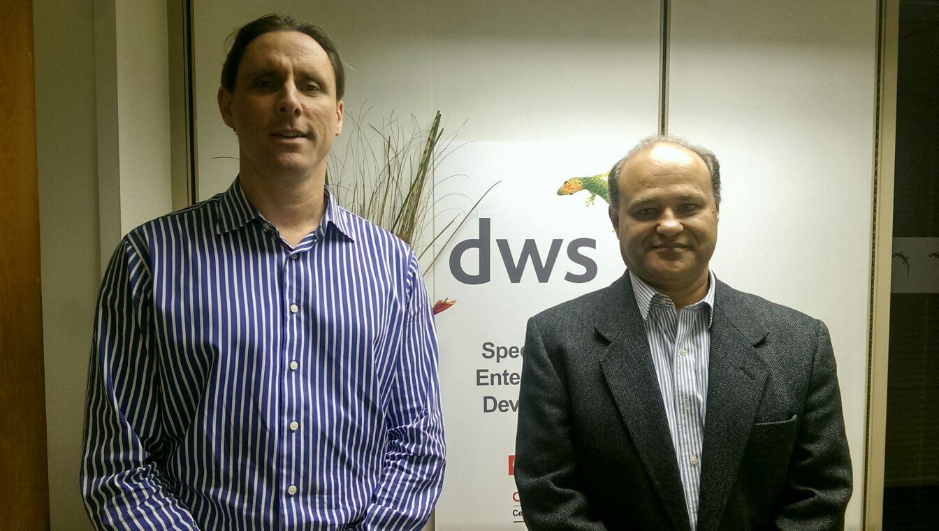 Barry Burke DWS CEO and Roberto Lima International Operations Director - MPL